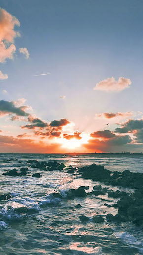 Ocean Sunset Wallpaper iPhone 6 preview