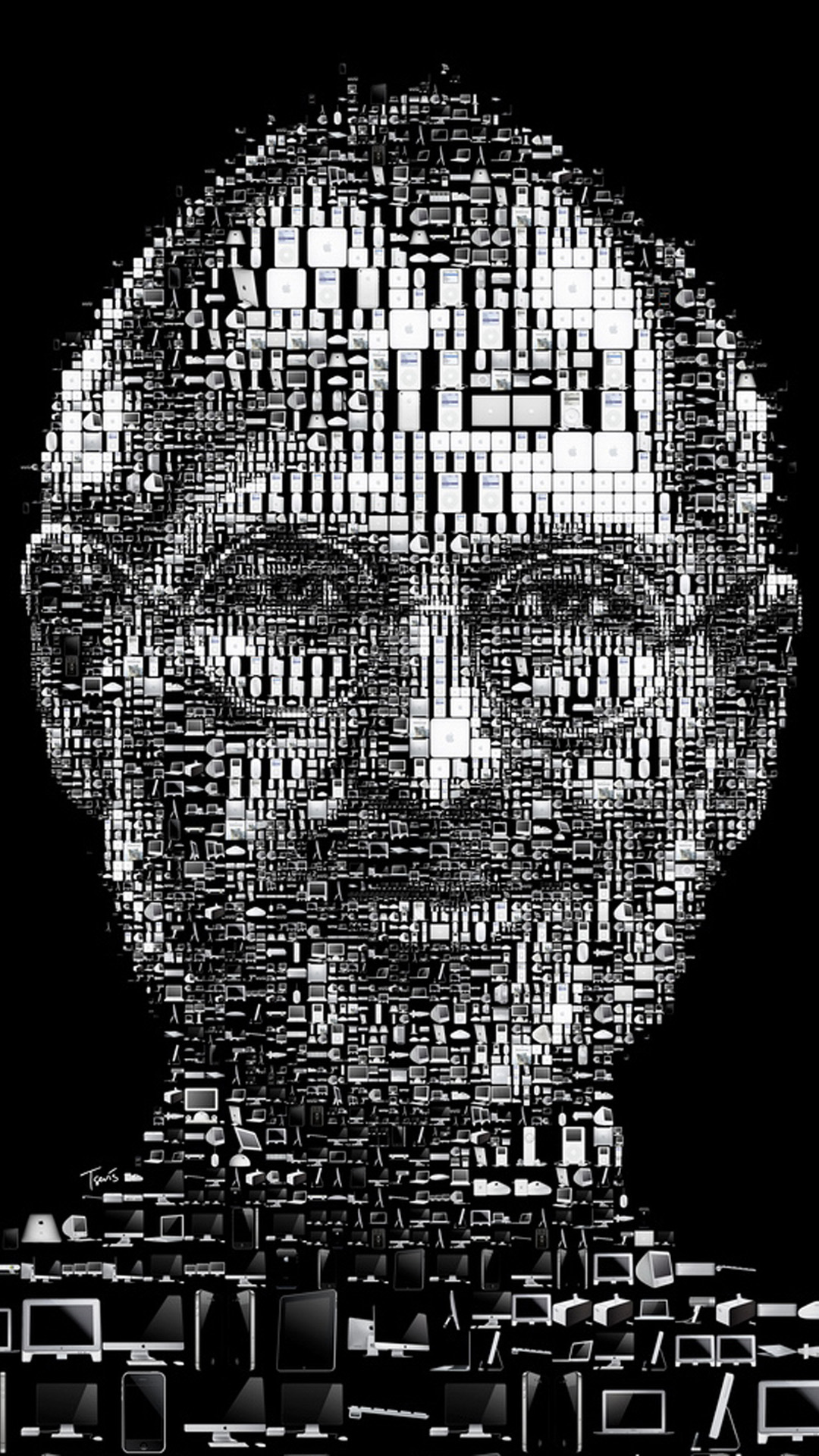 Steve Jobs Iphone Wallpaper Steve Jobs Tribute Wallpapers For Iphone 6 And Iphone 6 Plus
