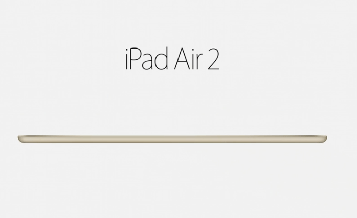 This is iPad Air 2...