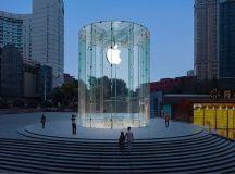 Photos of Apple's Chongqing store, opening tomorrow ahead ...