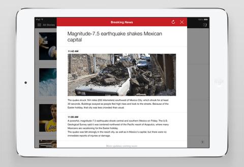 Yahoo 6.0 for iOS iPad screenshot 001