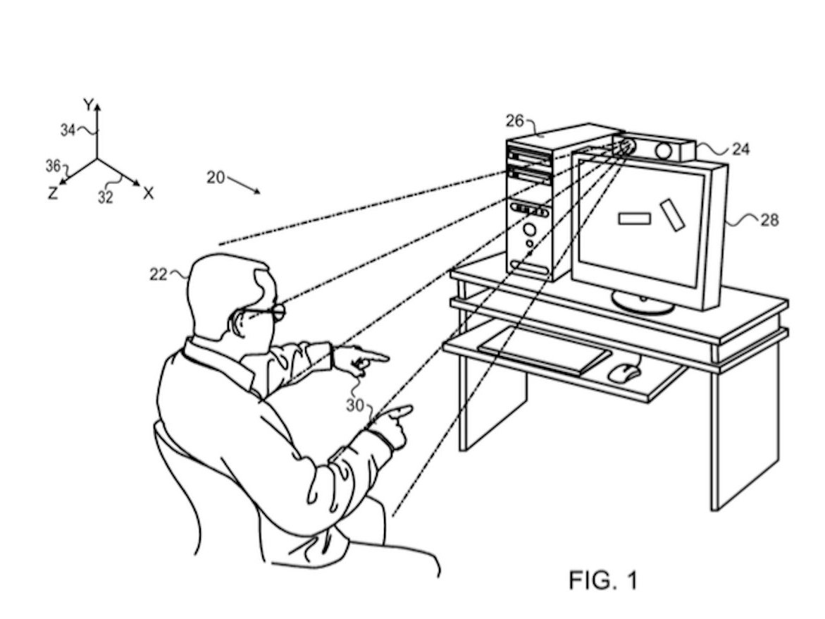 Apple files another patent for Kinect-like technology for