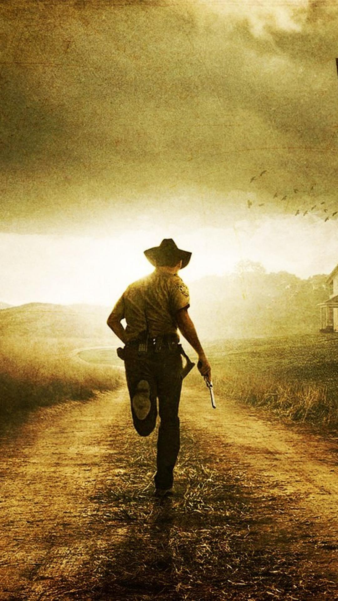 Iphone 6 Wallpaper Fall Leaves The Walking Dead Wallpapers For Iphone And Ipad