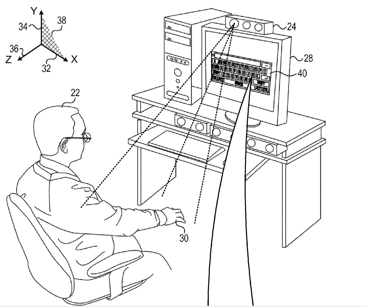 Apple granted PrimeSense patent related to 3D virtual