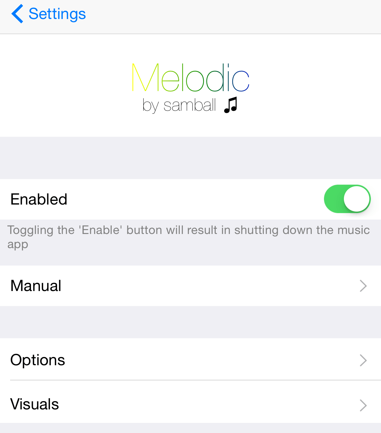 Melodic brings new sharing, metadata editing, and queuing