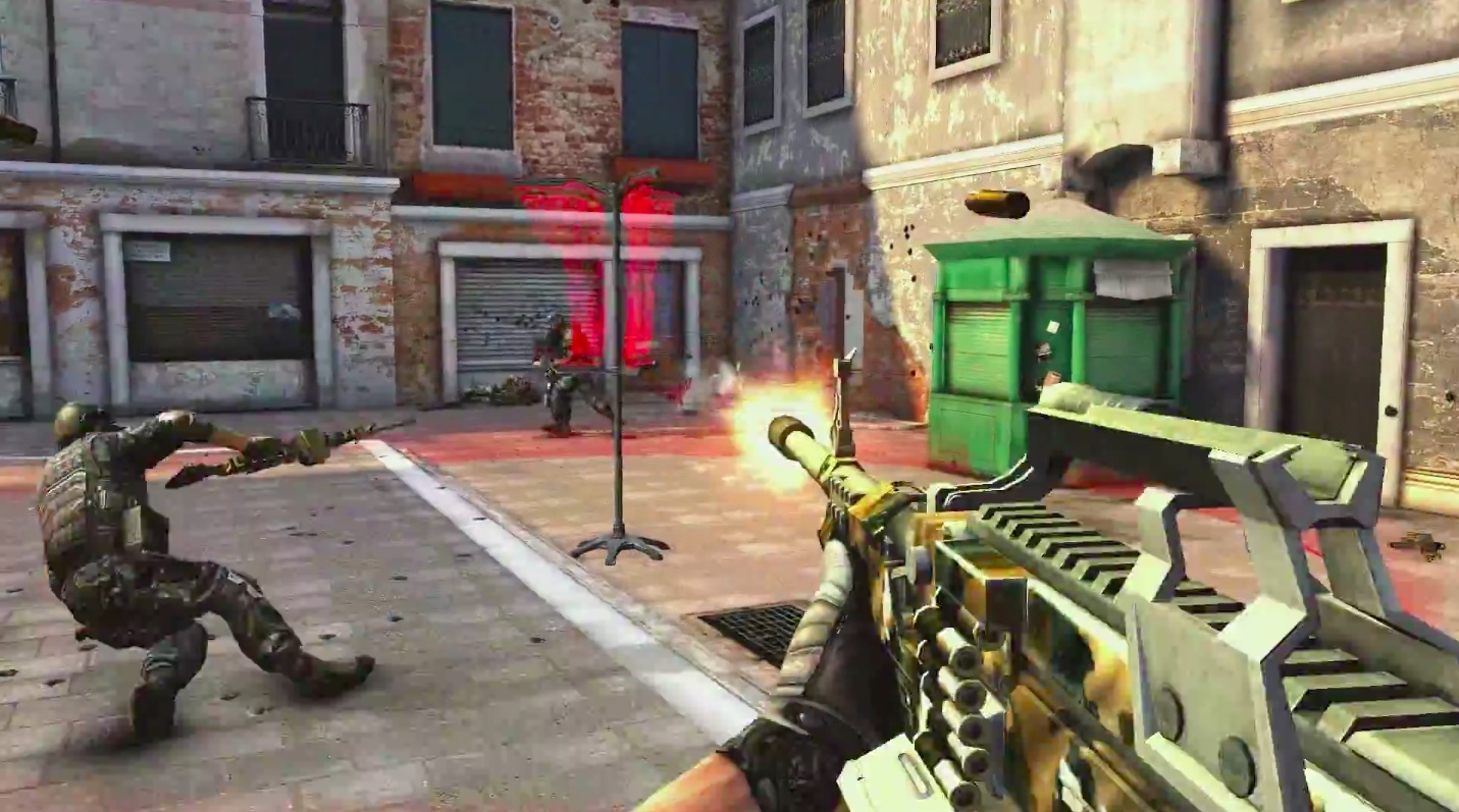 Modern Combat 5 Goes Free Gains MFi Controller Support