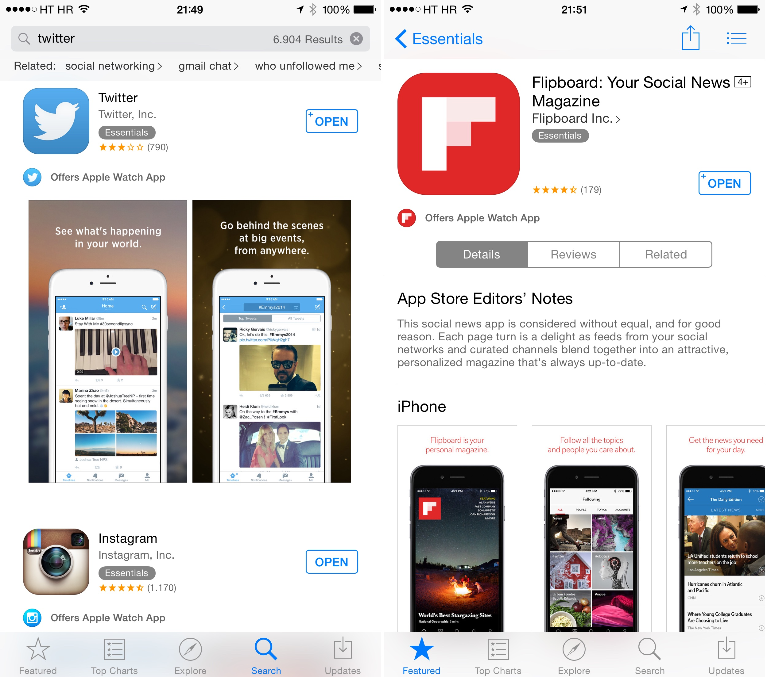 'offers Apple Watch App' Label Added To App Store