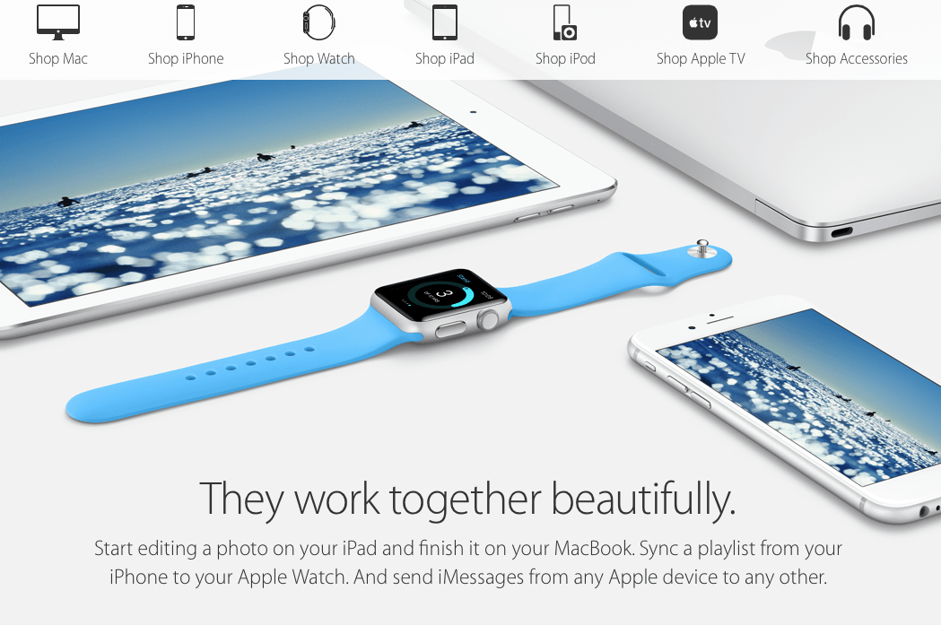 Apple Store Front Splash Image Surfing