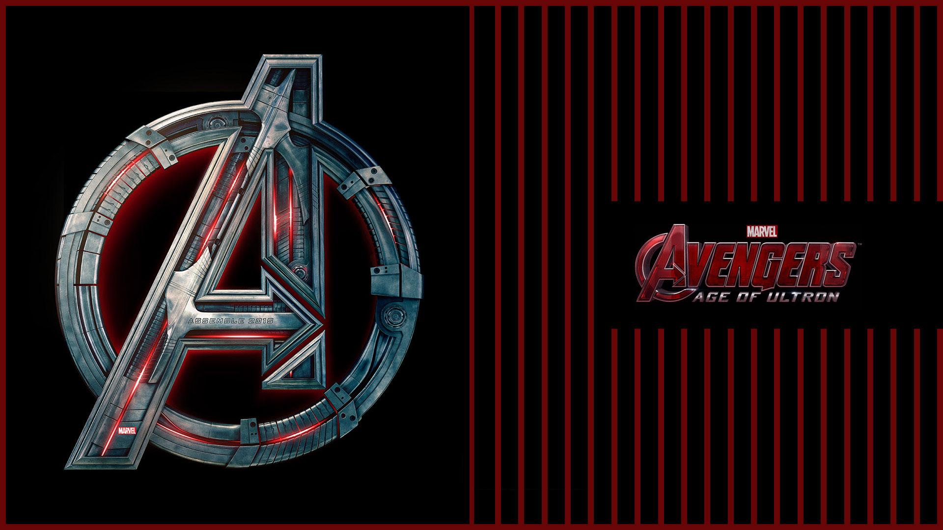 avengers 2 age of ultron logo wallpaper hd