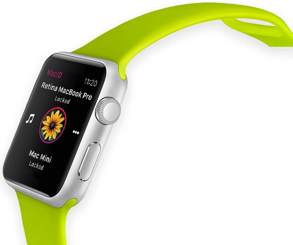 Mac ID en Apple Watch