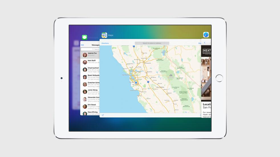 iOS 9 new app switcher