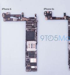 iphone 6s motherboard 9to5mac leak 002 [ 3000 x 2000 Pixel ]