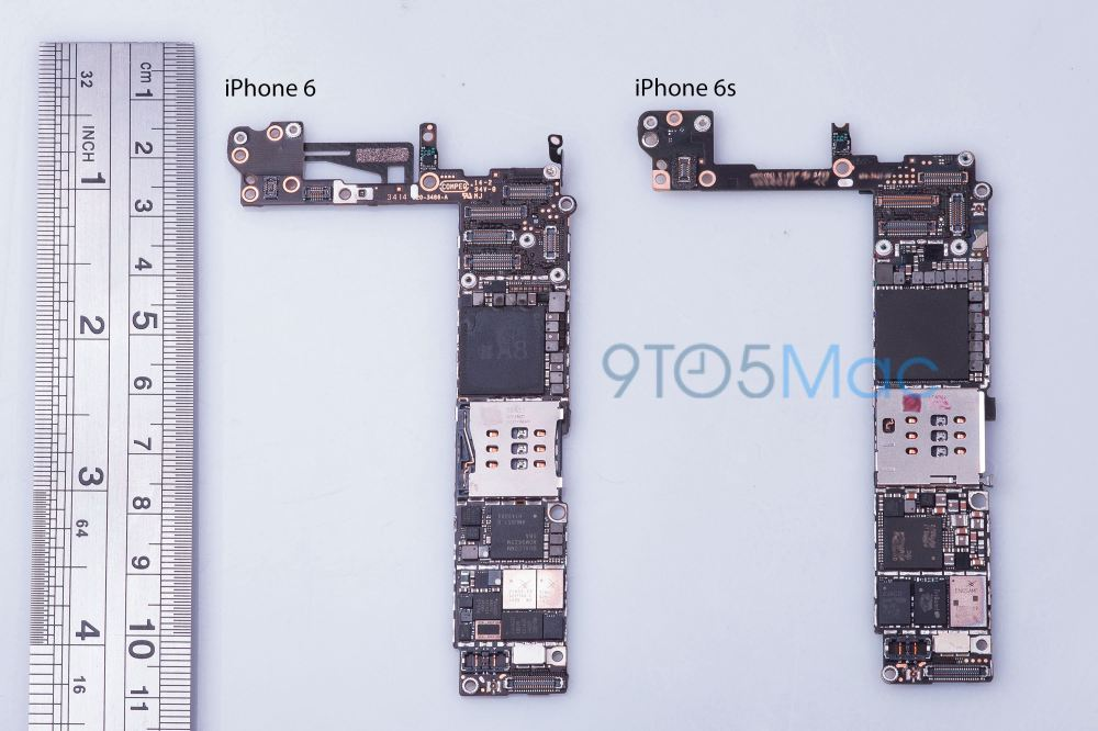 medium resolution of iphone 6s motherboard 9to5mac leak 002