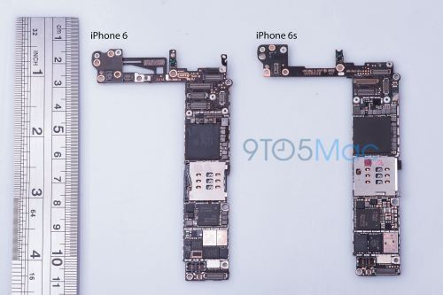 small resolution of iphone 6s motherboard 9to5mac leak 002
