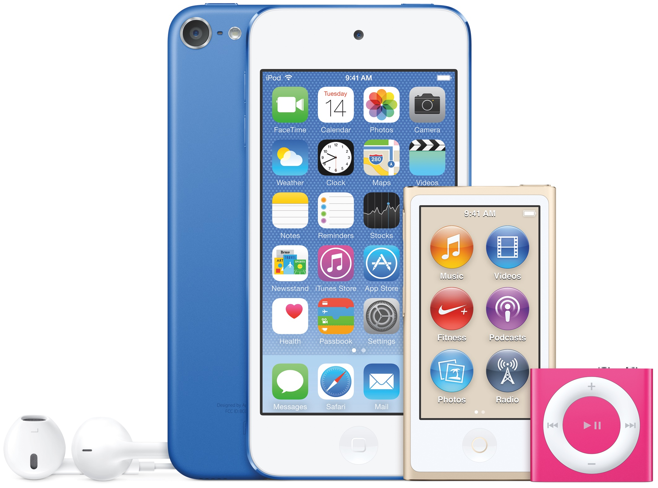 Apple gives iPod touch A8/M8 CPU, 8MP camera, 3x faster Wi-Fi & more with new nano/shuffle colors!