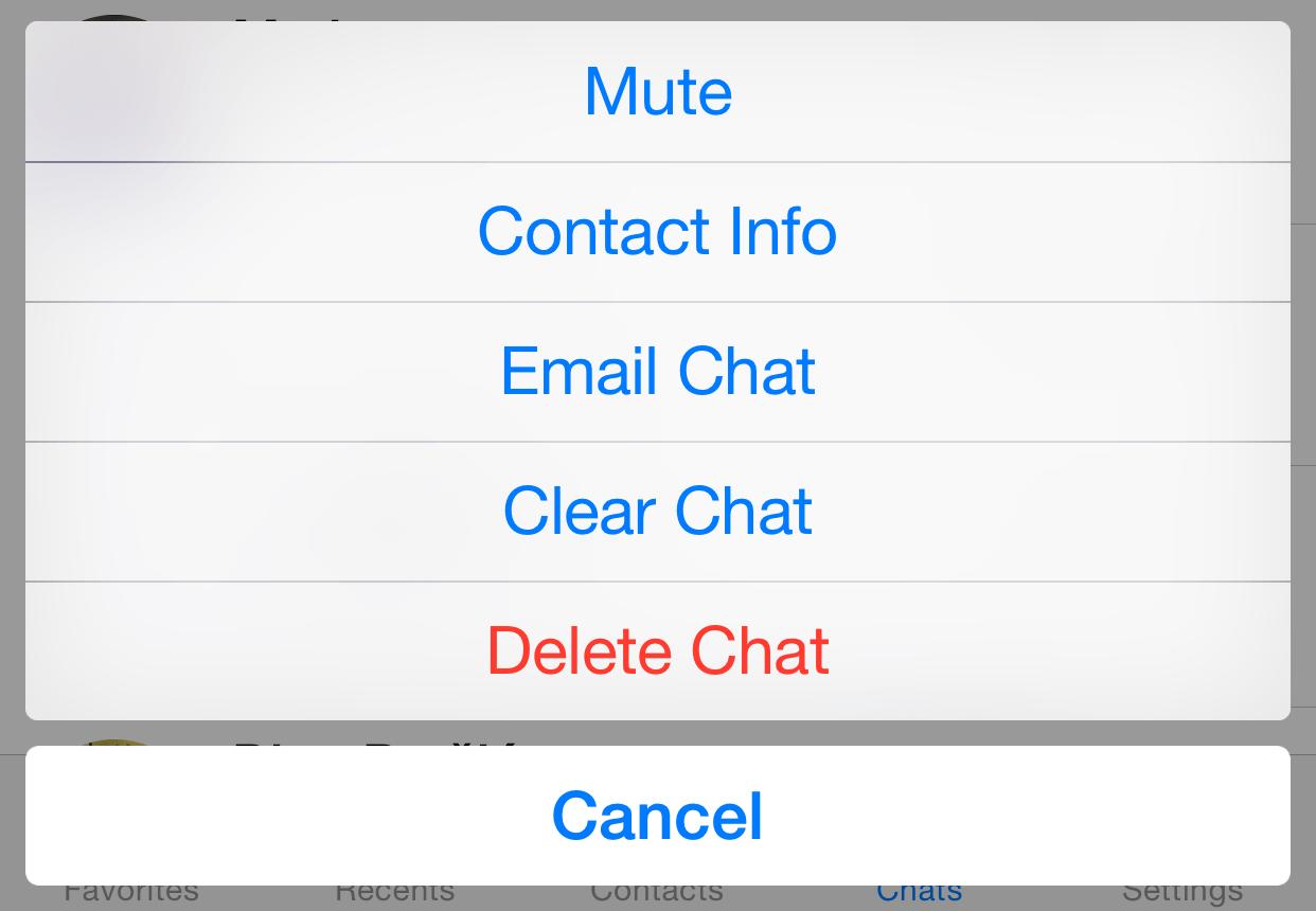 WhatsApp 2.12.5 for iOS iPhone screenshot 003