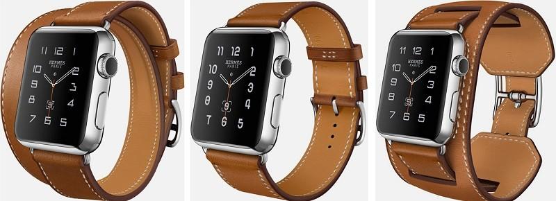 reloj de manzana hermes