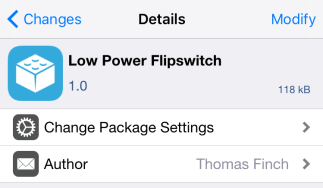 Low Power Flipswitch