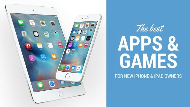 Best Apps & Games new iPhone iPad user 2015