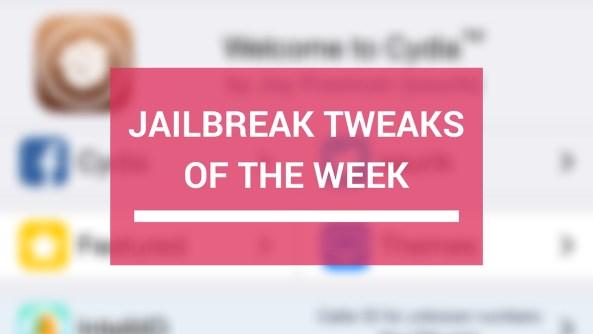 Tweaks of the week