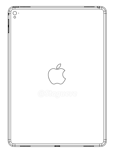 Leaked iPad Air 3 design drawing points to four speakers