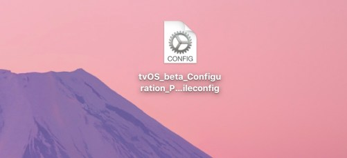 tvOS Configuration Profile