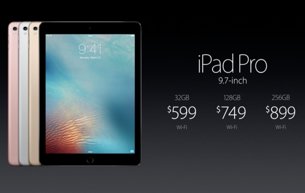 New ipad pro pricing