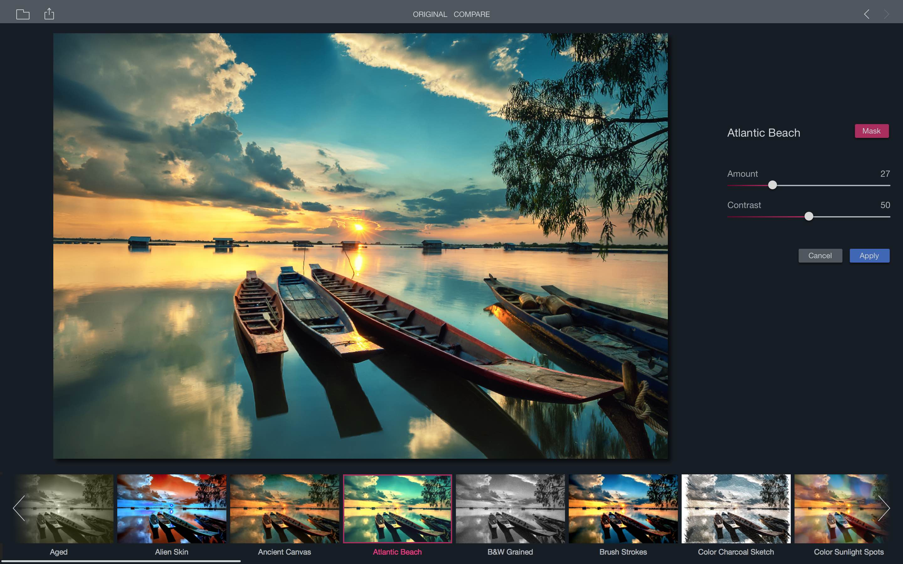 Add artistic flair to your photos with Filters a free Mac