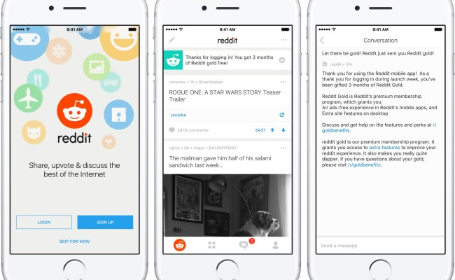 Reddit The Official App Hits The App Store
