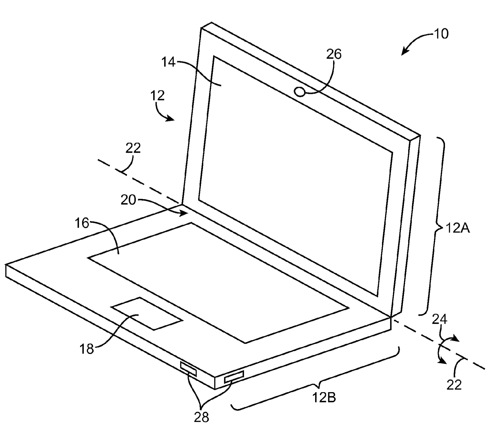 Apple's just been granted a patent for a MacBook with