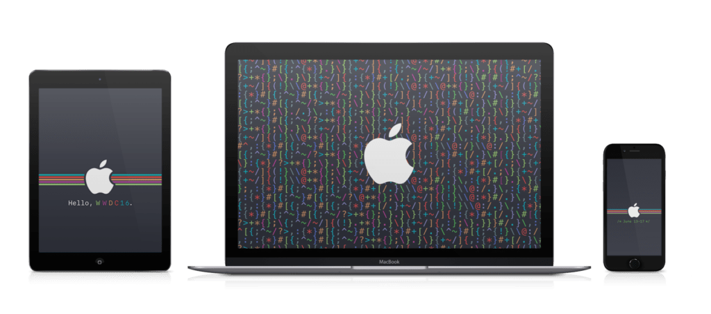 WWDC 2016 code wallpapers