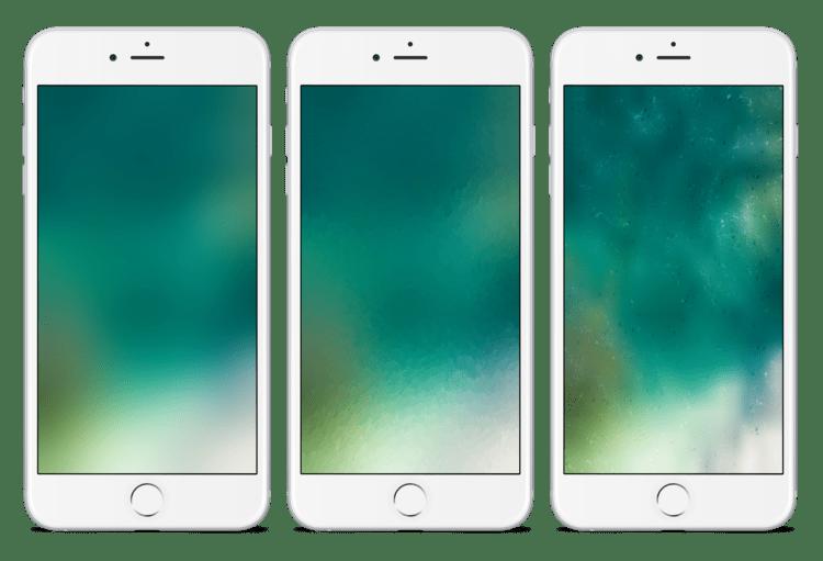 iOS 10 Wallpaper inspired kiwimanjaro splash