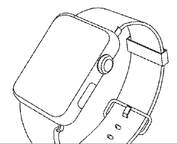 Samsung caught using drawings of Apple Watch in its own
