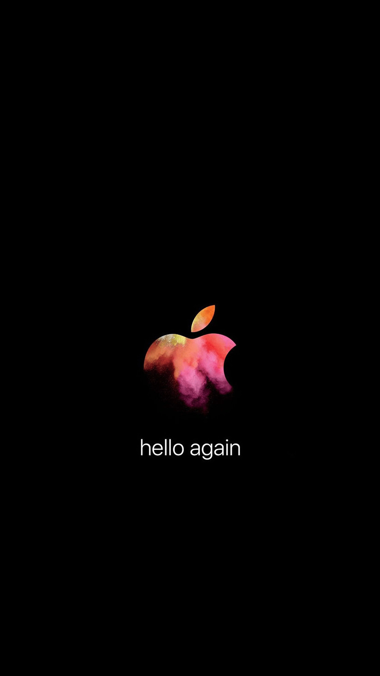 Hello Fall Wallpaper Macbook Pro Hello Again Apple Oktober Event Wallpaper
