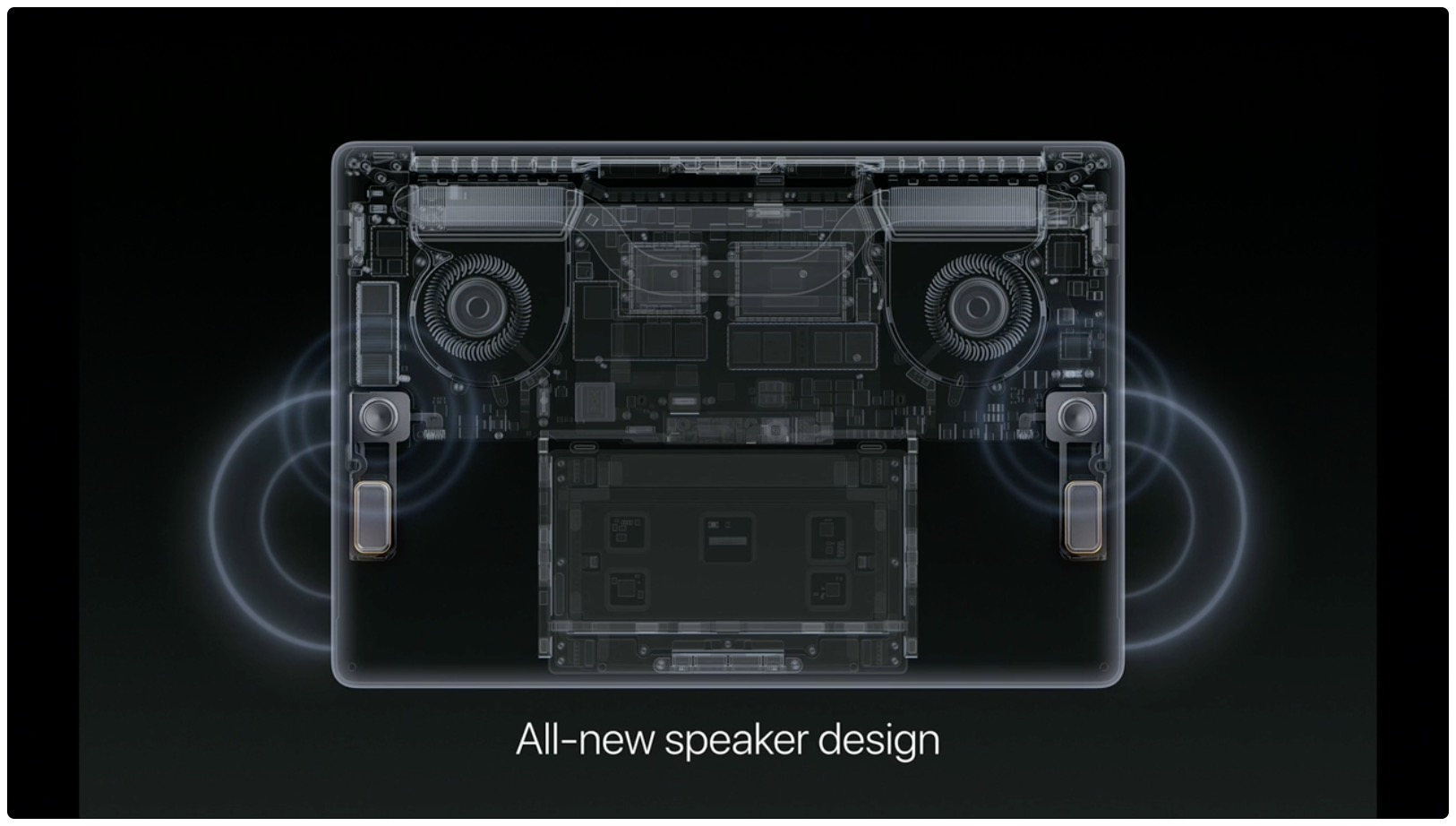 hello again event macbook pro new speakers