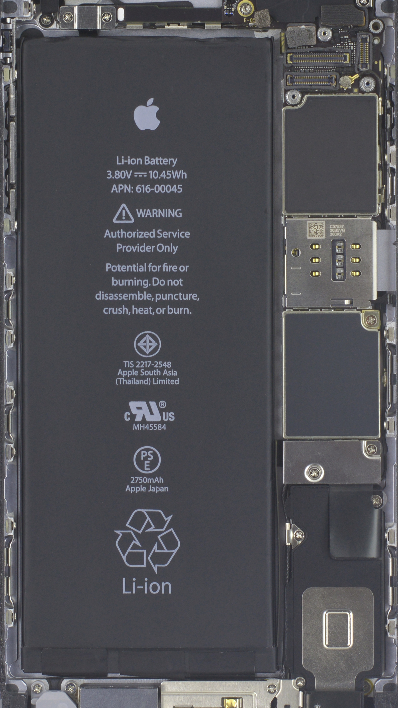 Iphone X See Through Wallpaper Wallpapers Of The Week Iphone 7 Internals