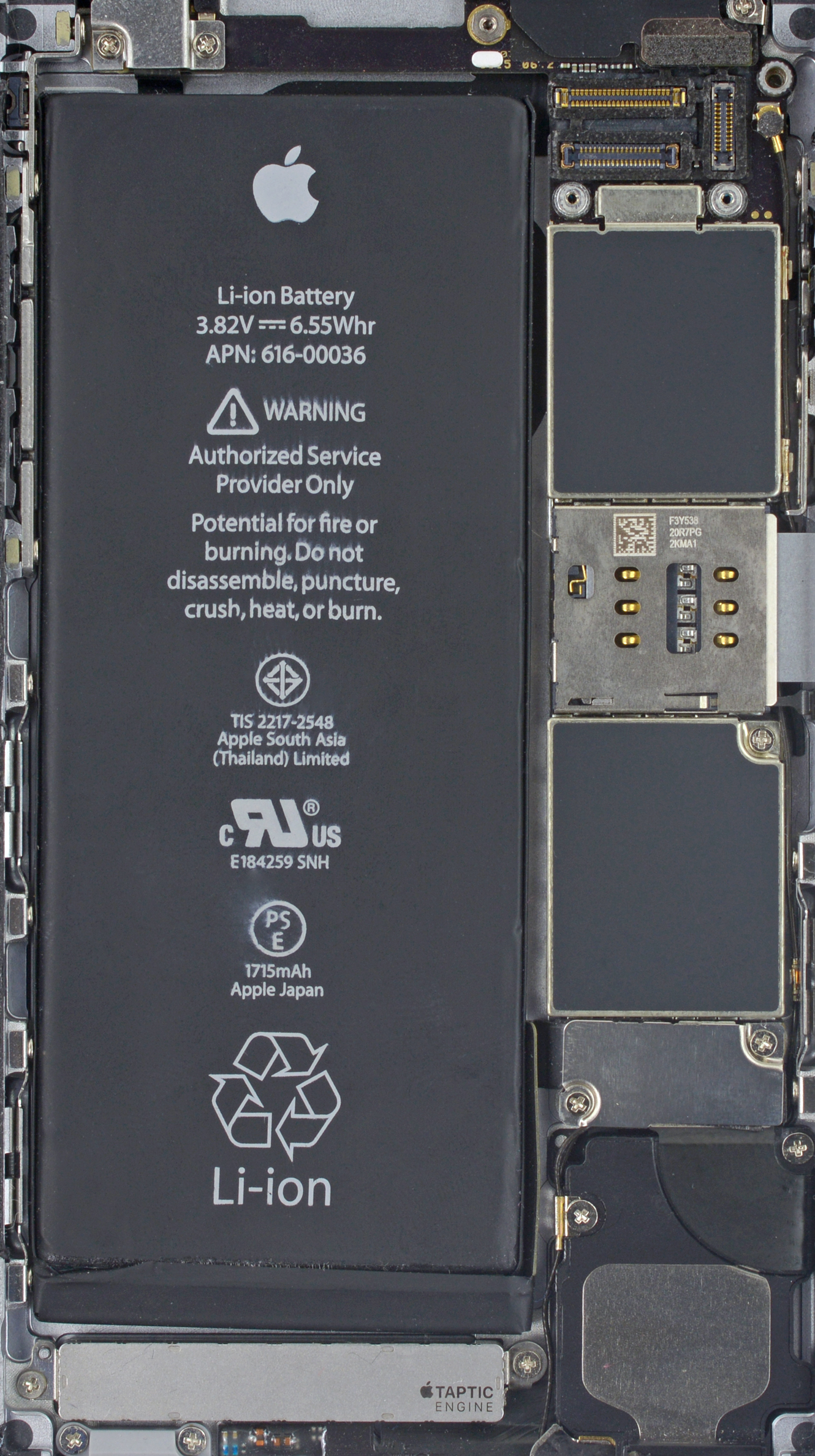 Ifixit Iphone Se Wallpaper Wallpapers Of The Week Iphone 7 Internals