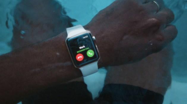 Apple Watch Series 2 ad Go Swim image 001