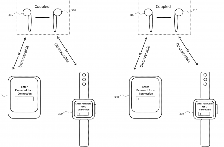 Apple patent AirPods bluetooth pairing drawing 002