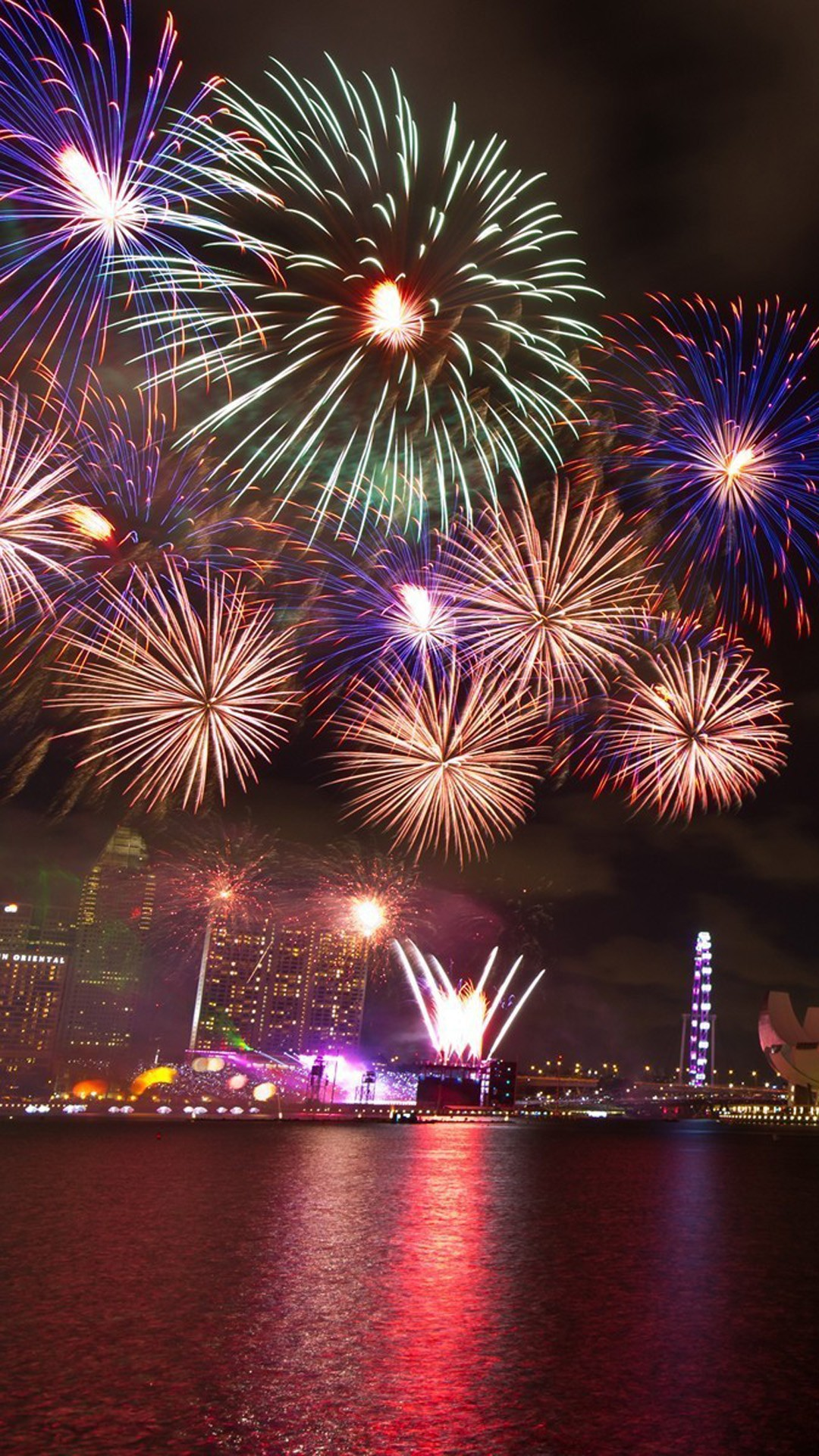happy new year firework wallpapers