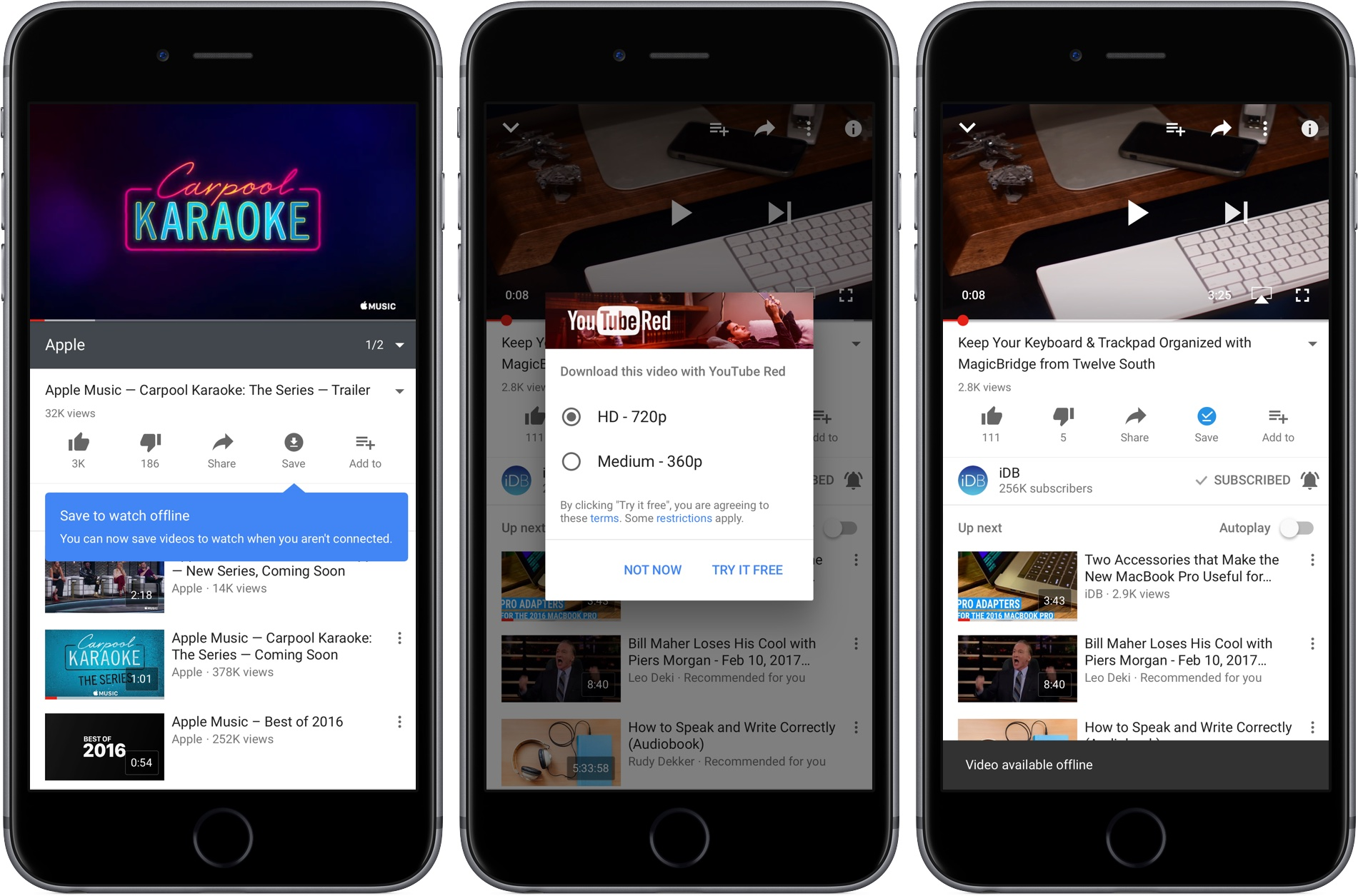 How to save YouTube videos for offline viewing