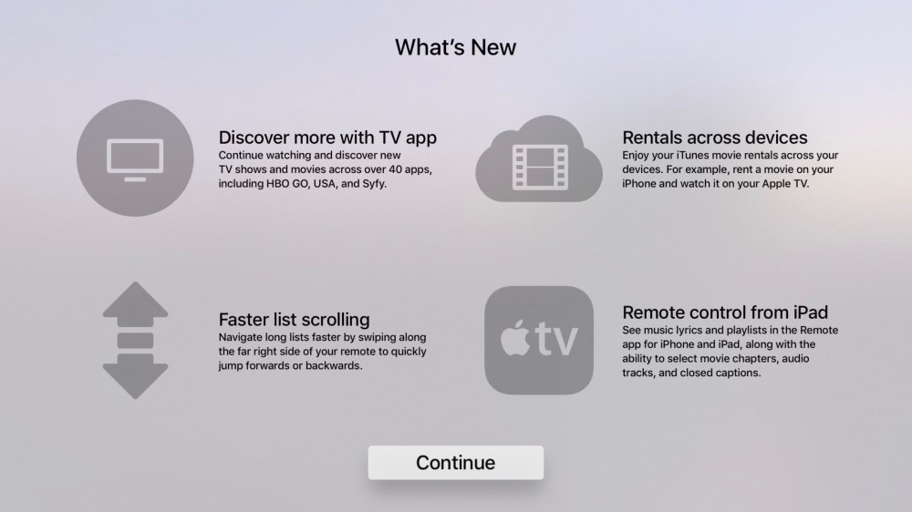 medium resolution of you no longer have to scroll through long lists on your apple tv for minutes on end like an animal courtesy of the latest firmware released yesterday