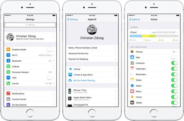 settings,iphone