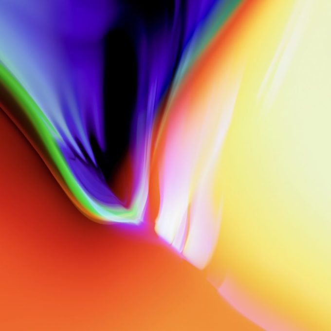 Tapeta iOS 11 (kolory, fluid)
