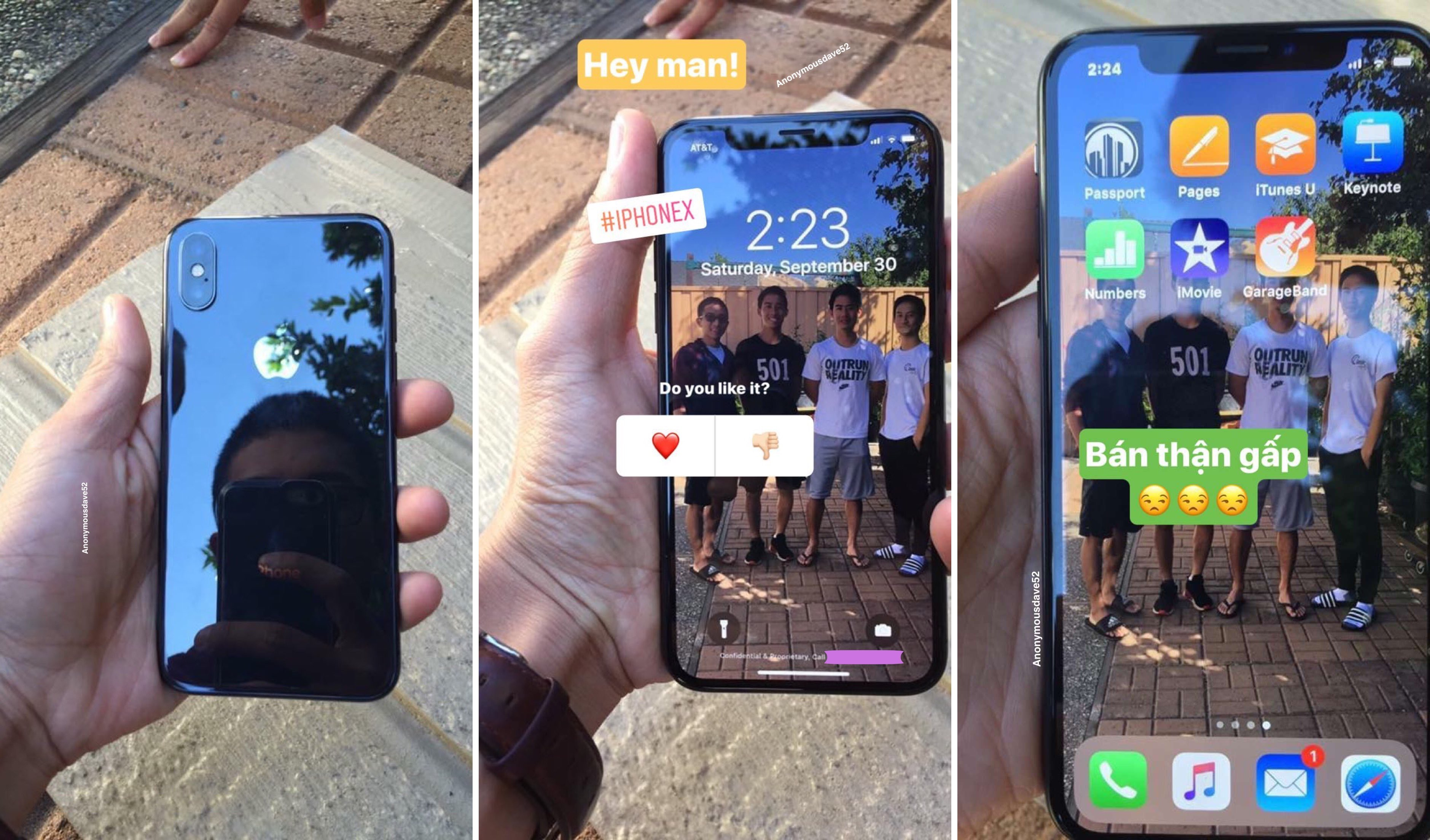 Iphone X Live Wallpaper App Iphone X In Black Amp White Spotted In The Wild Running A