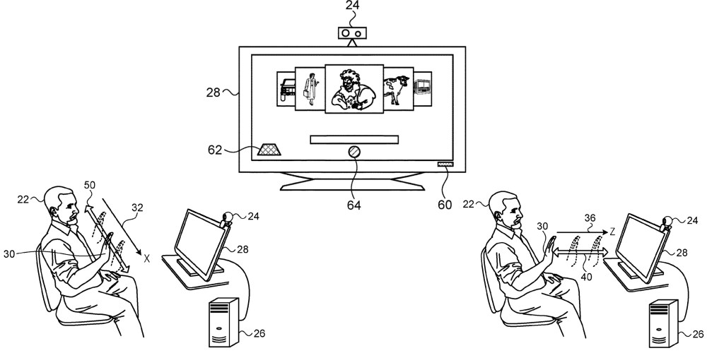 medium resolution of you can see in the patent s design documents a variety of different gestures that could be used to control your mac push wave and up are just a few
