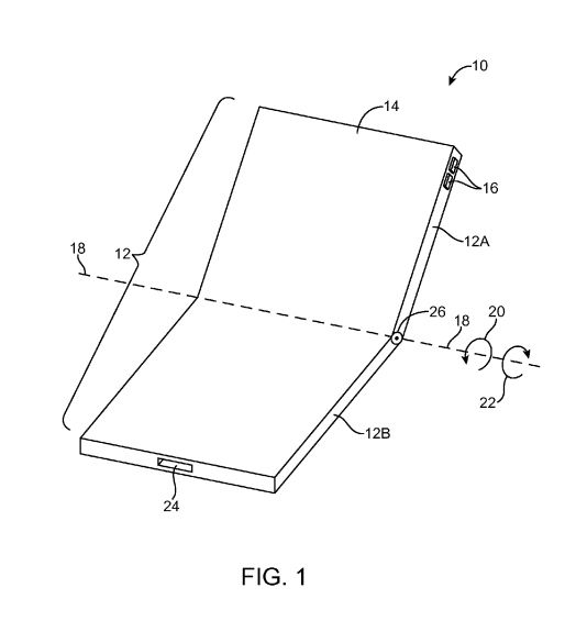 Apple secures patent for foldable phone