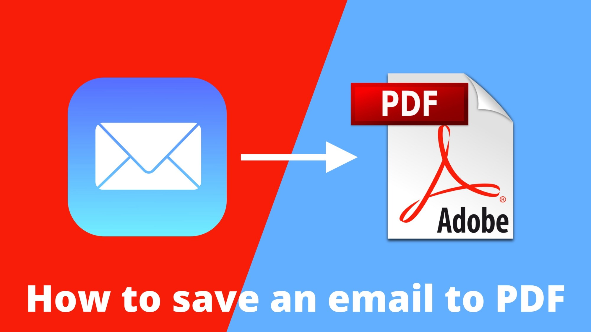 hight resolution of how to save an email as pdf
