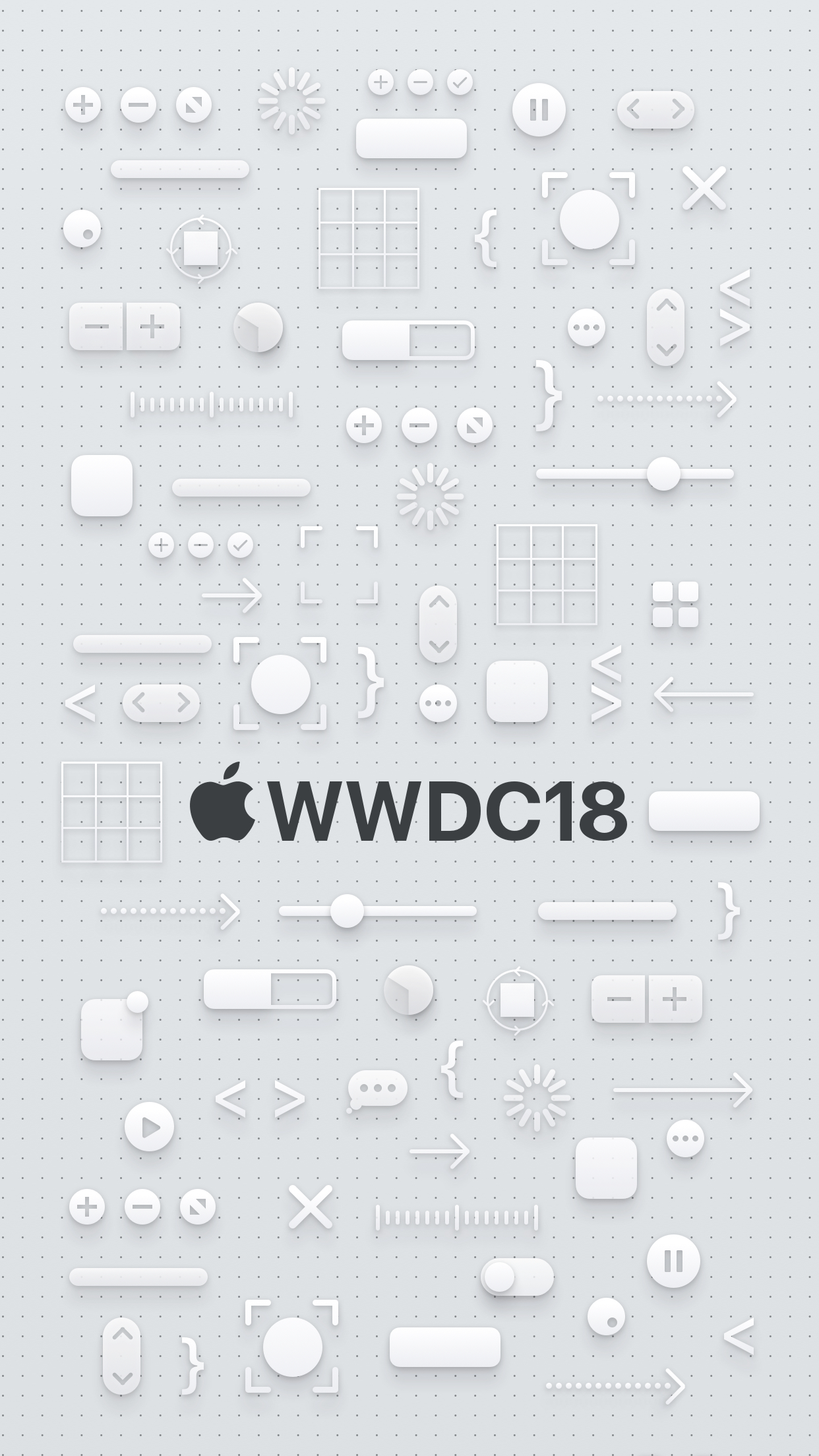 WWDC 2018 iPhone wallpapers