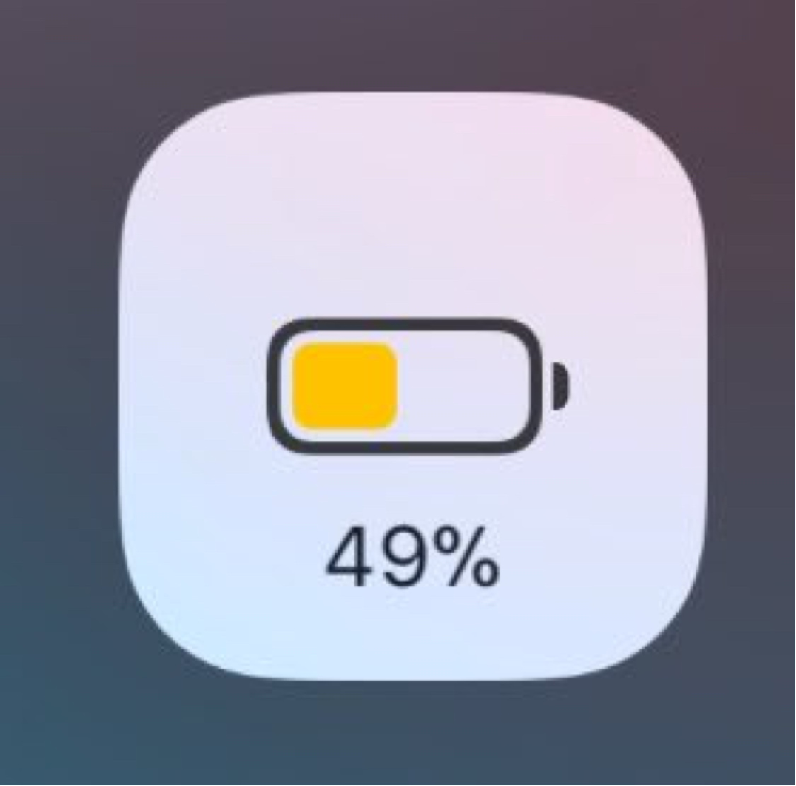 Low Battery Power Indicator